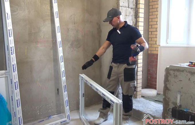Правильная установка балконного блока своими руками.