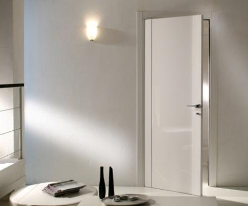 белые глянцевые межкомнатные двери Interior Design