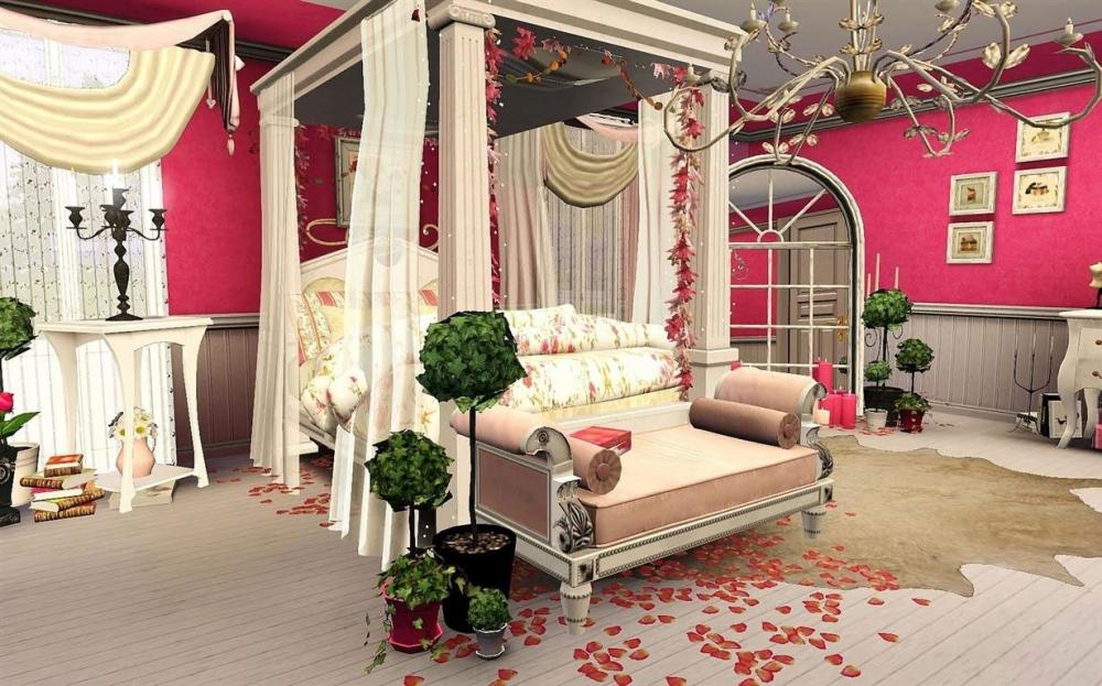 Интерьеры романтический стиль