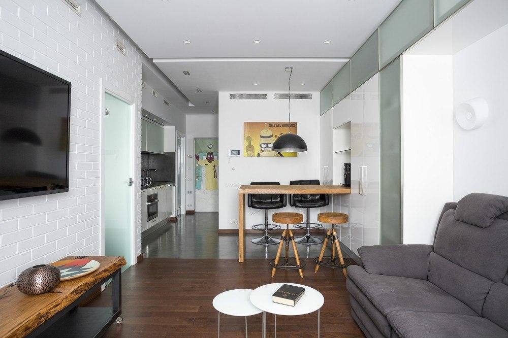 Дизайн однокомнатной квартиры 50 различных вариантов