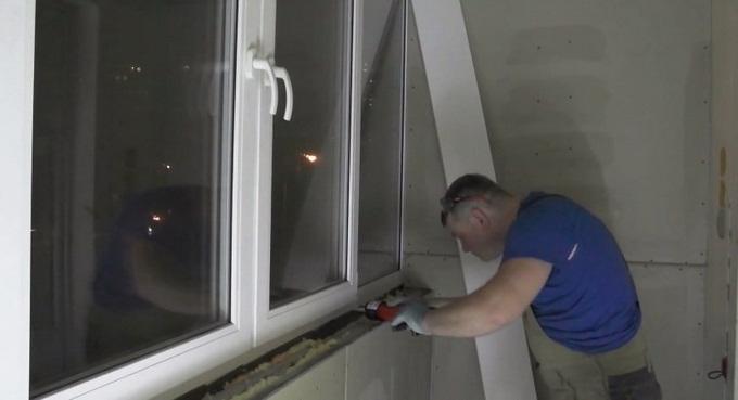 Как установить подоконник на балконе, пвх и закрепить его са.