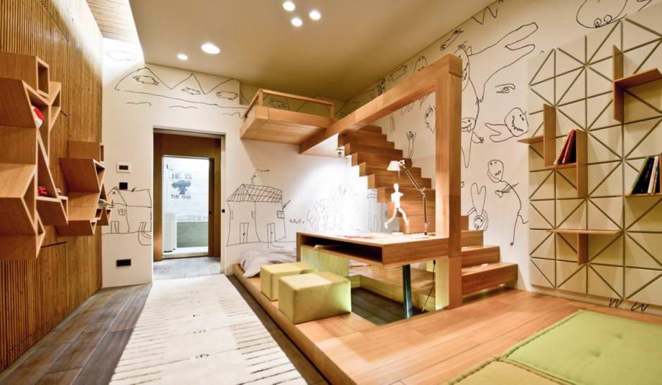 Комната планировка стиль