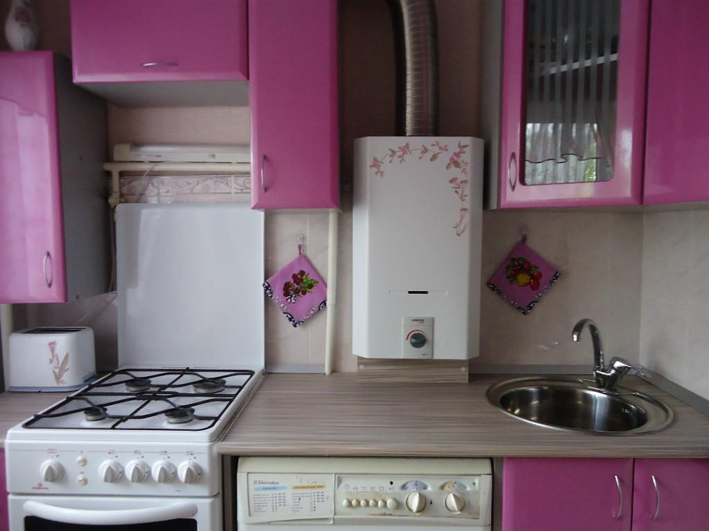 ремонт кухонь с газовой колонкой фото